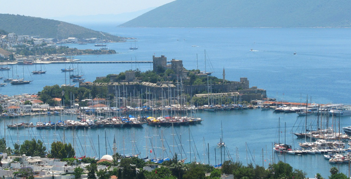 Picture from Bodrum, Turkey