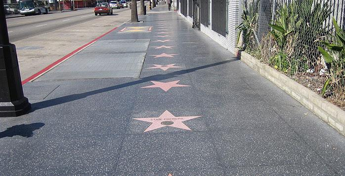 Picture from Hollywood, California