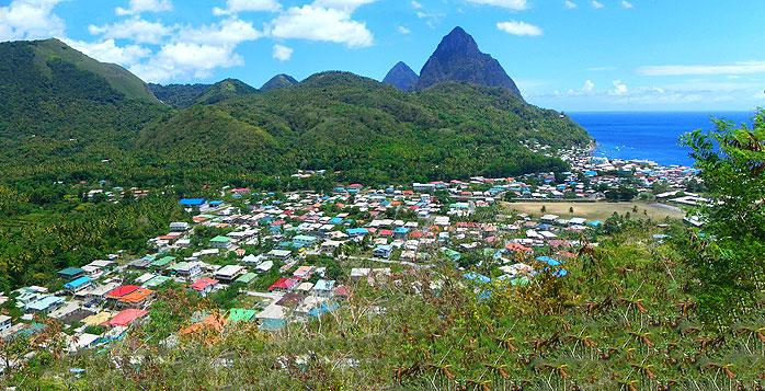 Picture from St. Lucia